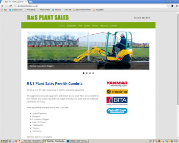 Website for R and S Plant Sales Penrith
